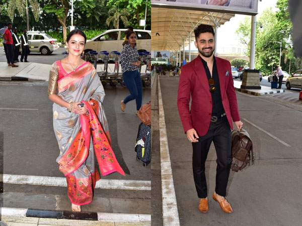 Shrenu & Zain Off To Udaipur For The Show's Launch