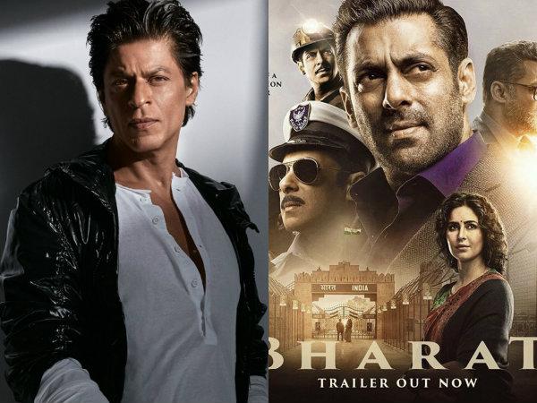 Shahrukh Khan Just Watched Salman Khan's Bharat Trailer & Had THIS To Say!