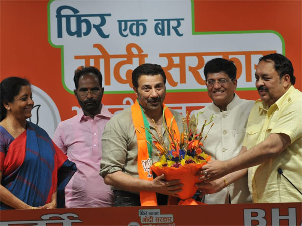 Sunny Deol Joins BJP, Likely To Contest The Lok Sabha 2019 Elections From Gurdaspur Or Chandigarh