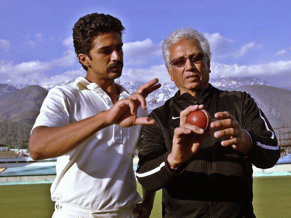 Mohinder Amarnath Teaching Saqib Saleem
