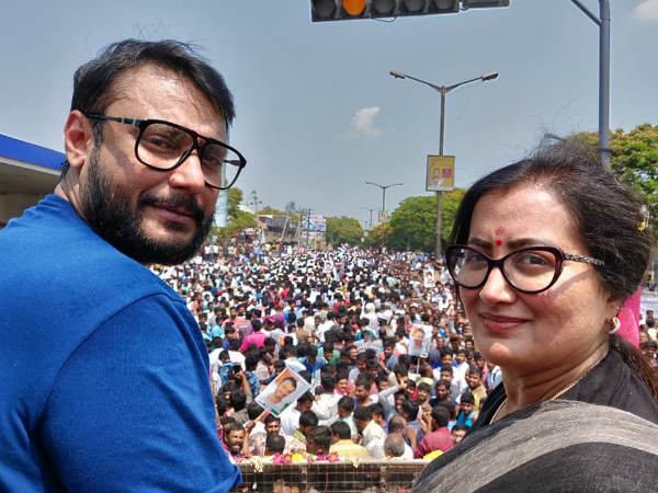 Sumalatha Slams Accusations Against Darshan; Ambareesh's Fans Thank D Boss For His Support!