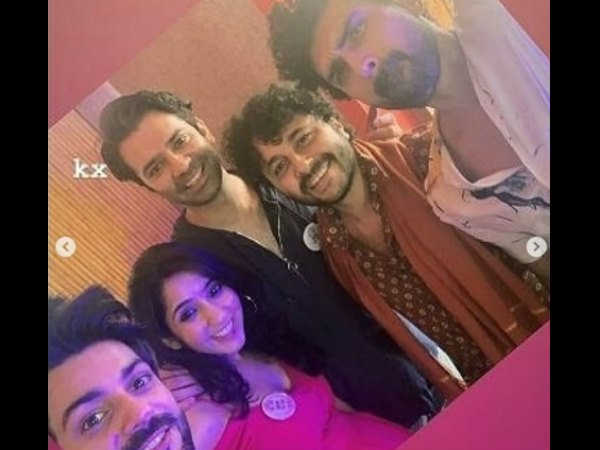 Barmeen With Friends