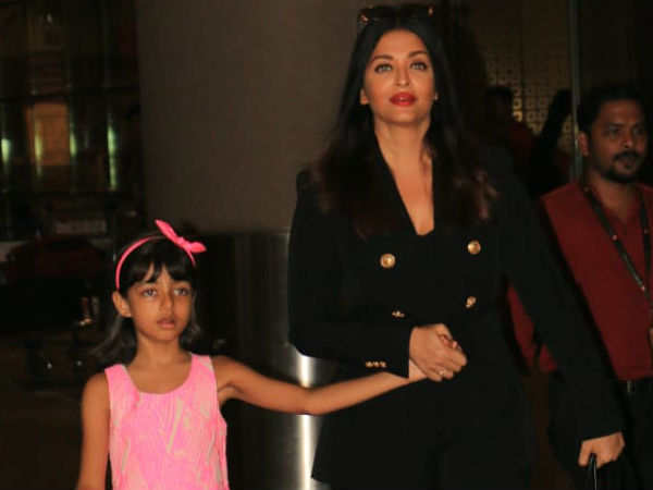And The Discussion Over Aishwarya & Aaradhya Just Continued..