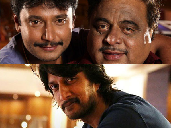 Sudeep & Darshan Remember Ambi On His Birth Anniversary