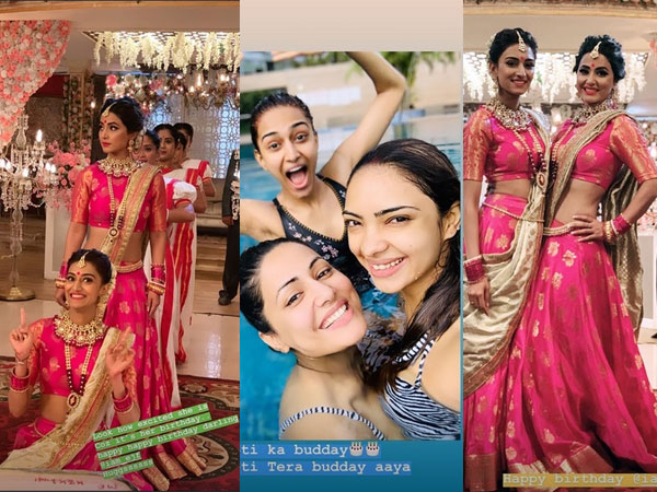 Hina Shares Adorable Pictures & Wishes Erica