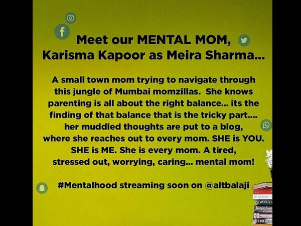 Meet Mental Mom Meria Sharma