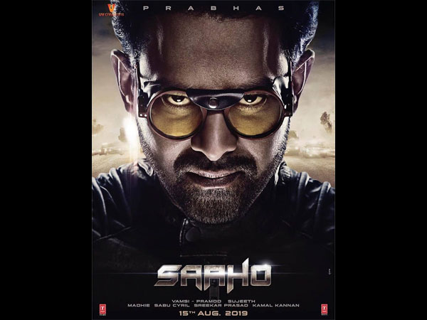 Saaho New Poster Out; Prabhas Confirms The Release Date