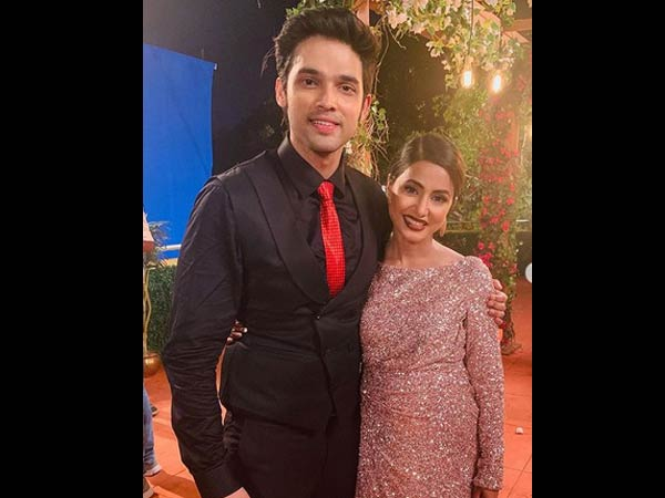 Parth Wishes Good Luck To Hina