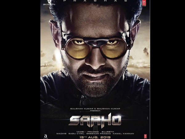 Prabhas' Saaho New Poster: Twitterati Says 'Box Office Records & Bollywood In Danger'