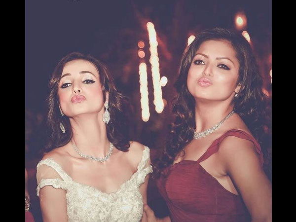 Drashti As Sanaya's Bridesmaid!