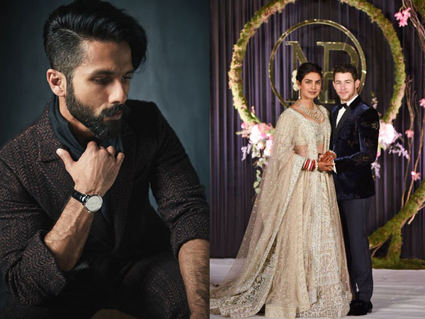 Shahid Even Had An Advice For Priyanka's Hubby Nick Jonas