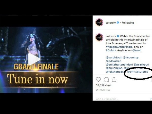 Is Surbhi Chandna, The New Naagin?