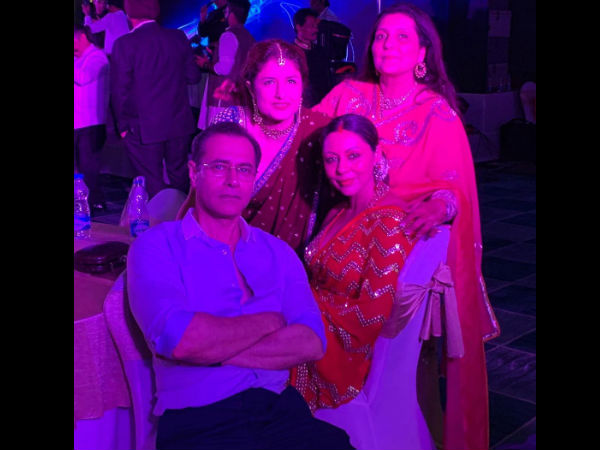Gauri With Her Family