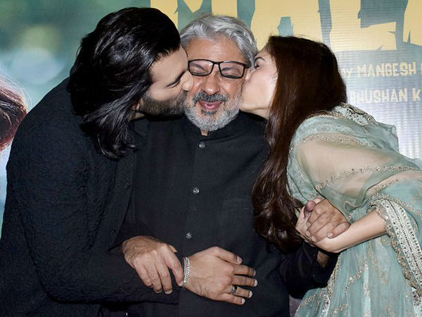Meanwhile, Bhansali Gets Emotional