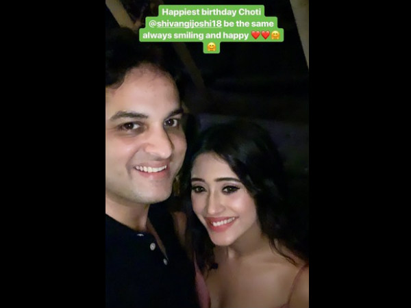 Vikas With Shivangi