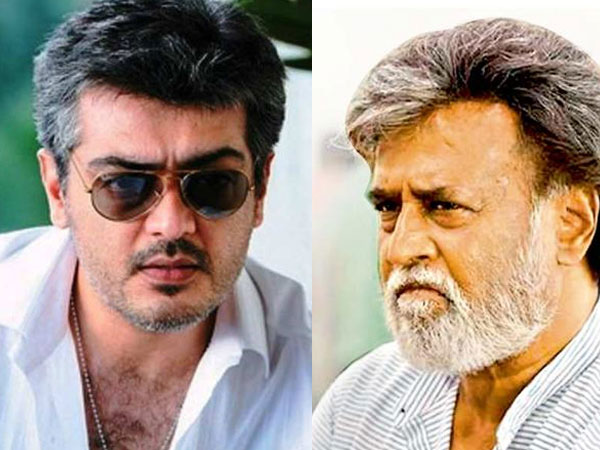 Rajinikanth and Ajith