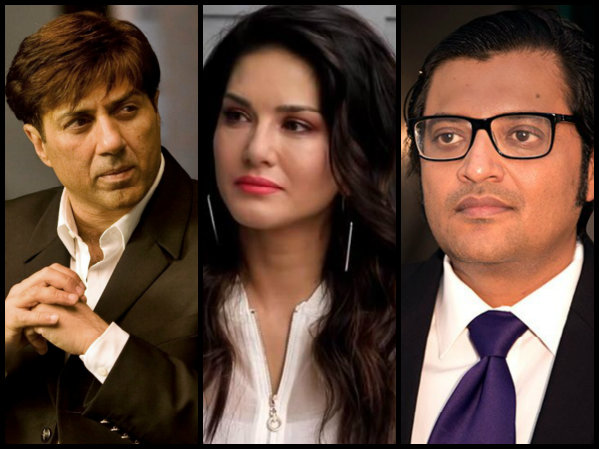 Lok Sabha Election 2019: Arnab Goswami Refers To Sunny Deol As Sunny Leone; Here's How She Reacted