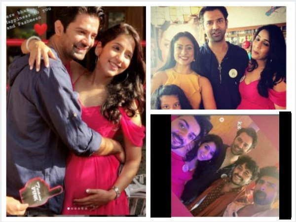 Guests At Pashmeen's Baby Shower