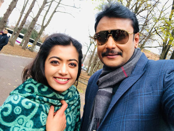Darshan Made Rashmika Mandanna's Dream Come True! Yajamana Actress Gushes Over D Boss