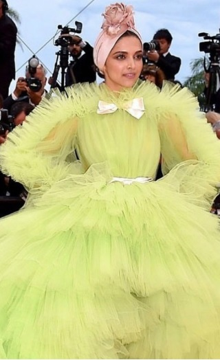 Cannes Day 2 Red Carpet: Deepika Padukone Goes All Quirky
