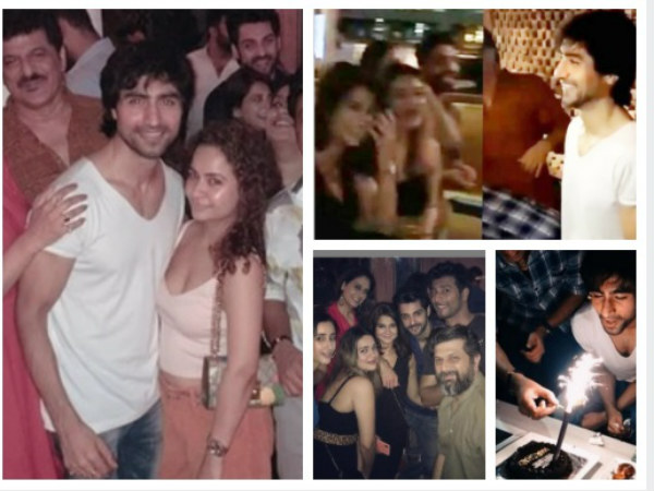 It Was Bepannaah Reunion At Harshad's Birthday Party; Jennifer, Sehban, Karan Wahi & Others Attend!