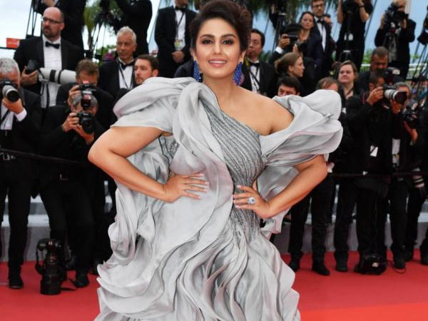 Cannes 2019: Huma Qureshi Turns Heads In A Grey Ruffled Gown On The Red Carpet!