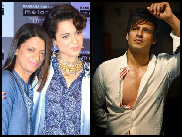 Kangana Ranaut's Sister SUPPORTS Vivek Oberoi Over His Controversial Tweet About Aishwarya Rai?