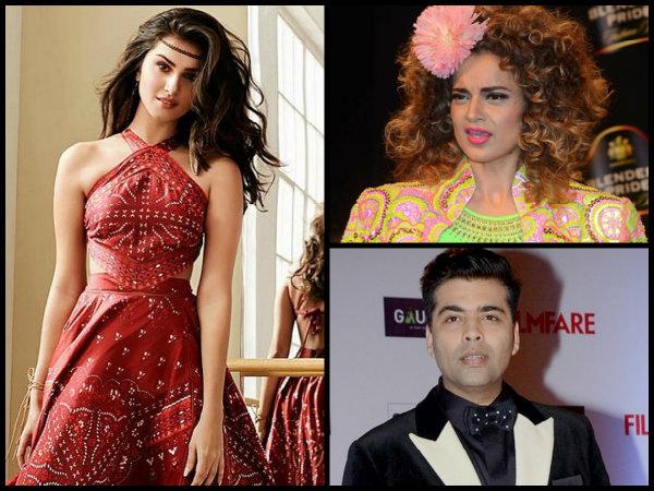Karan Johar ANGRY With Tara Sutaria For Praising Kangana Ranaut? Now She DITCHES Her & Picks Deepika