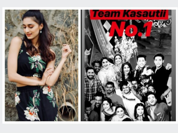 Kasautii Zindagii Kay 2 Team Celebrates Becoming No 1; Erica Reveals Why TRP Of KZK Is Increasing!