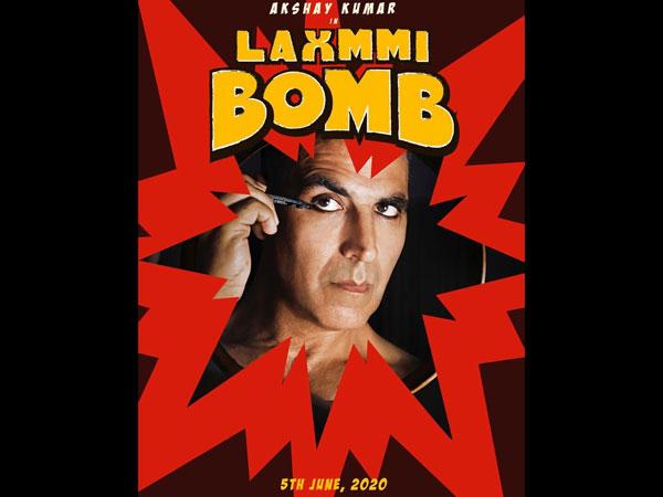 Laxmmi Bomb First Look Poster: Akshay Kumar Takes Us By Surprise In This Sneak-peek!