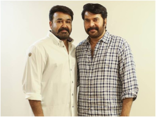 About Mammootty & Mohanlal