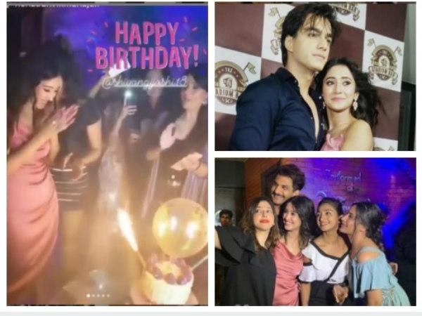 Shivangi Joshi Celebrates Birthday With Her Boyfriend Mohsin Khan, Surbhi Chandna & Others!