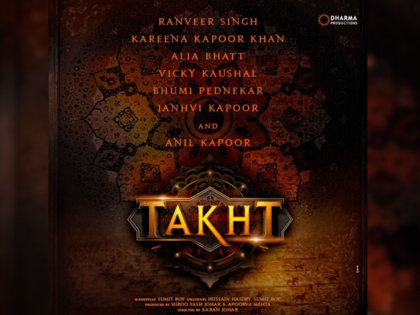 Takht Is On Track
