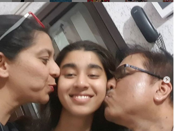 Sudharani Celebrates Daughters Class 12 Results