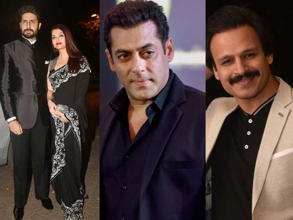 CONTROVERSIAL! Vivek Oberoi Pokes Fun At Salman Khan, Aishwarya-Abhishek Bachchan With This Meme