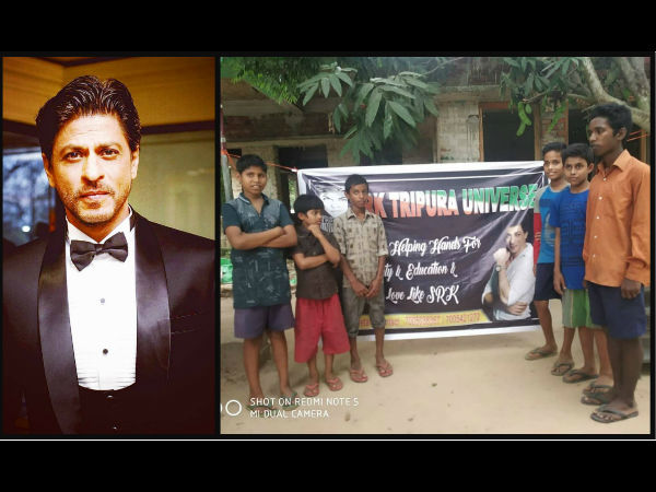 SRK's Fans Work For The Welfare Of Children