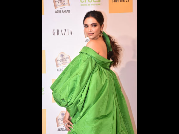 WHAT A CLOWN! Deepika Padukone Gets TROLLED For Looking Like A Cabbage In A Green Gown; See Pictures