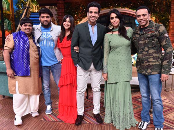 The Kapil Sharma Show Ekta Kapoor Boo Sabki Phategi Cast
