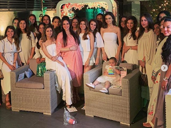 Earlier, Esha Had Shared A Glimpse From Her Baby Shower