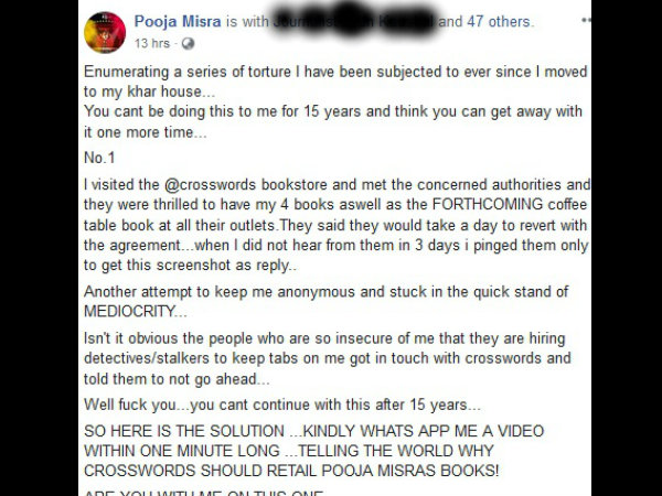 Claims Bookstore Rejected Her 4 Books