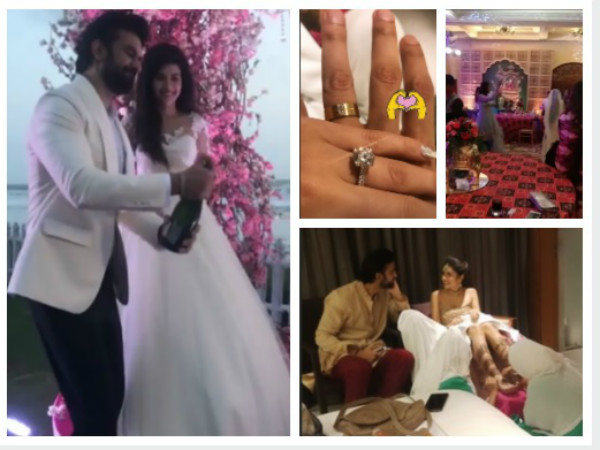 Charu Asopa & Sushmita Sen's Brother Rajeev Get Engaged; Check Out Their Wedding Festivities PICS!