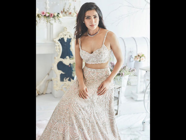 Samantha Akkineni's Elegant New Photos Will Make You Believe That She Is A Fairy