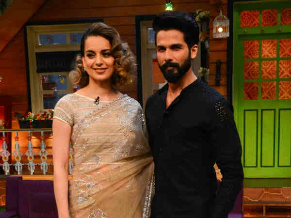 Shahid Had Reacted To Kangana's Statement In An Interview