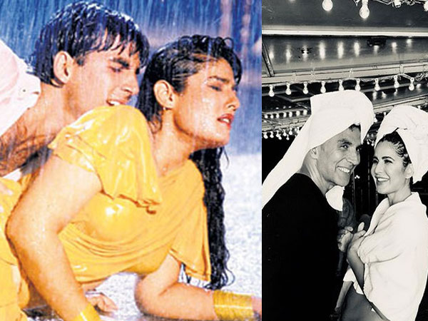 Raveena On Akshay-Katrina Recreating The Rain Song