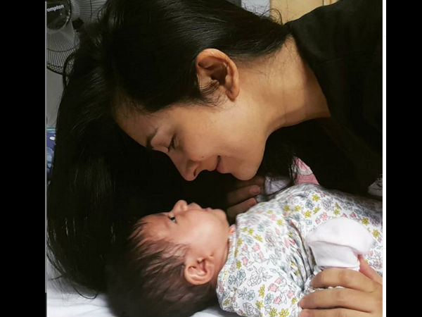 Radhika Pandit Shares A Rare Picture Of Her Baby
