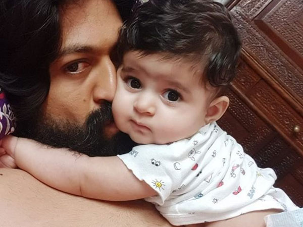 Radhika Pandit Calls Yash Their Baby Daughter's Superhero! Shares An Adorable Pic On Father's Day