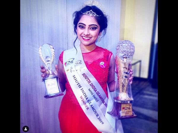 Kulavadhu's Dhanya Aka Deepika Wins Miss South India Glamour 2019 Title!