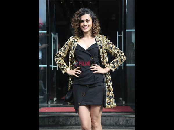 Taapsee Was Dumped By Her First Boyfriend