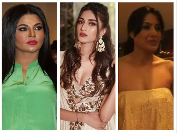 Erica Fernandes, Gauhar Khan, Rakhi Sawant & Other TV Actresses Have OOPS Moments!