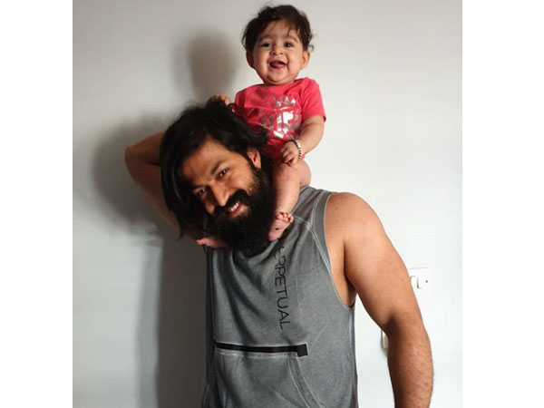 Radhika Pandit Shares Yash's Latest Workout Pic With Baby Daughter Ayra! You Just Can't Miss It